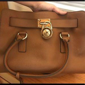 Michael kors Brown Hamilton small satchel